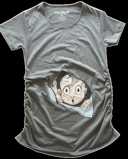 Maternity T-shirts produced by TeeTick