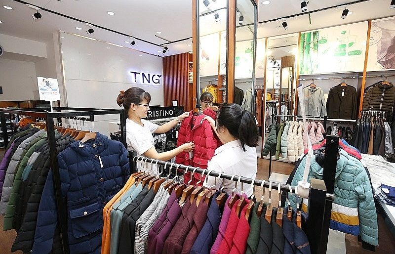Products Of TNG Garment In Retail Store