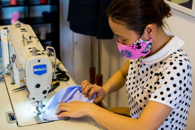 Vanda Tailor In-house Workshop