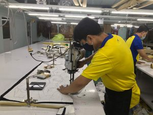 Dony Garment Company continuously receives new orders